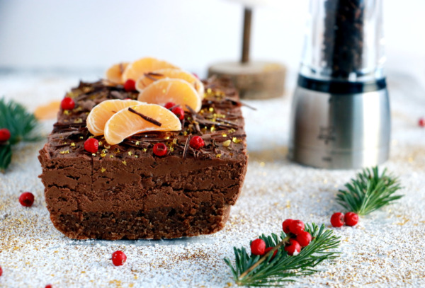 Chocolate Mousse Cake with Timut Pepper