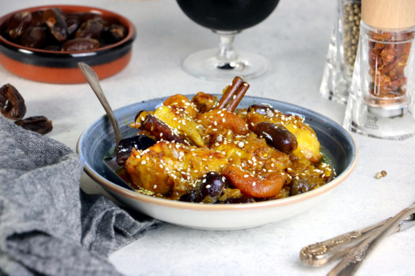 Chicken Tagine with Dried Fruits
