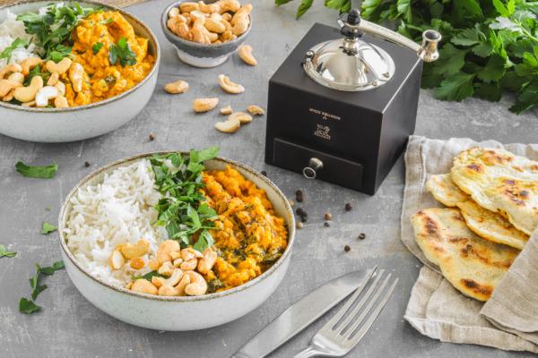 Curry aux lentilles