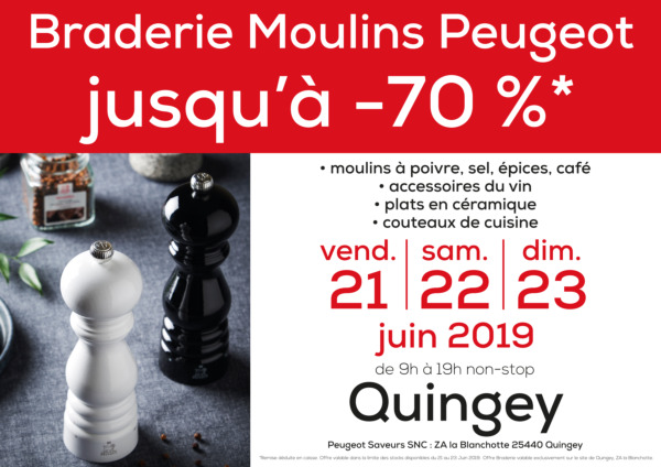 Braderie Moulins Peugeot