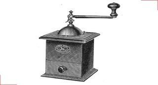 The first coffee mill - Peugeot Saveurs